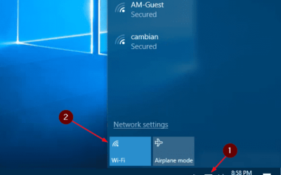 Activar WiFi en Windows Server 2019, 2016, 2012