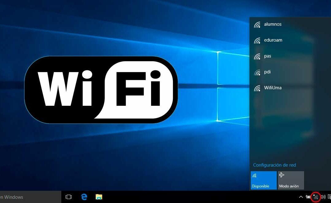 Eliminar perfiles Wifi usando comandos en Windows 8, 8.1 y 10